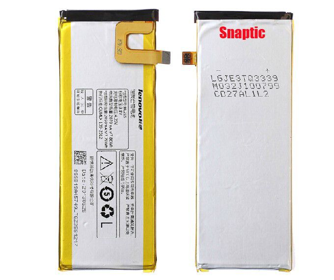 Buy Lenovo Vibe X S960 Original Li Ion Polymer Replacement Battery Bl-215 By Snaptic online