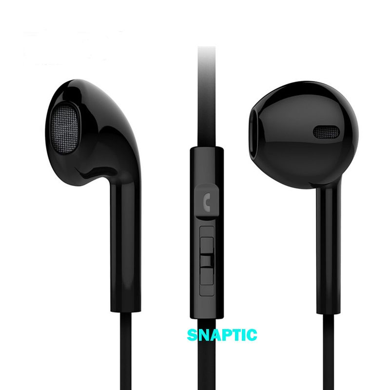 Buy Snaptic Noise Isolation Noodle Stereo Headset Earpods With Mic online