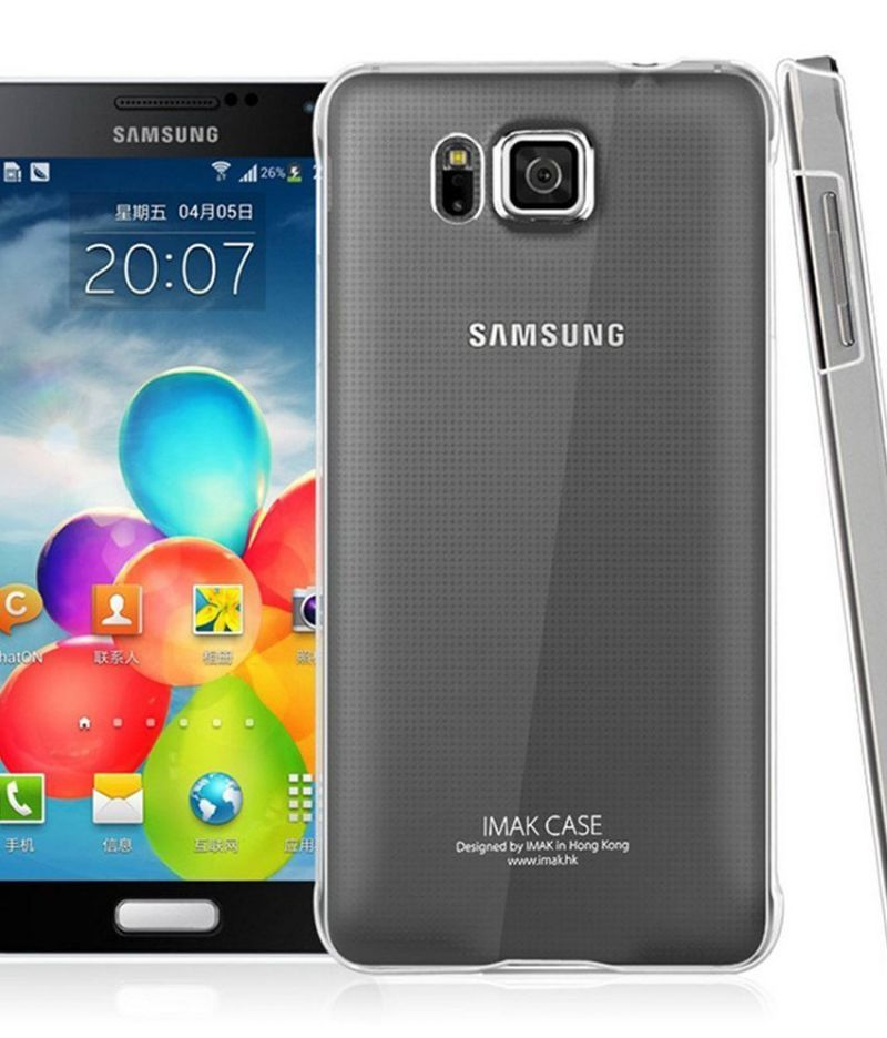 Buy Ultra Thin 0.3mm Transparent Soft Back Case For Samsung Galaxy Alpha G850 online