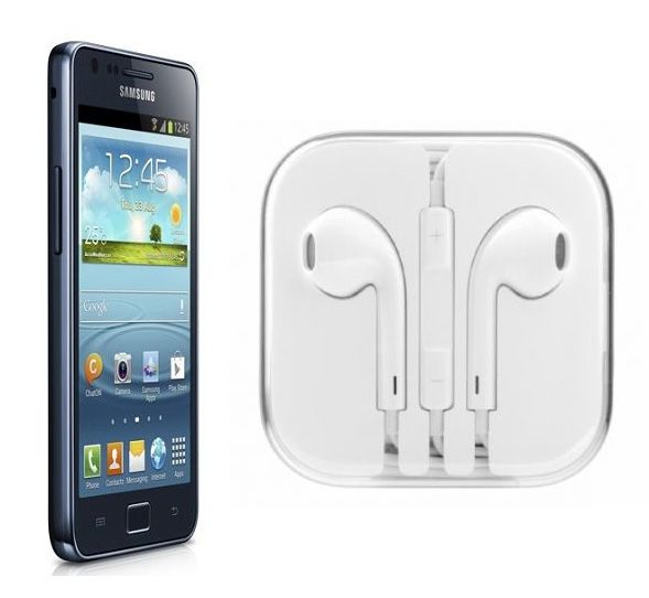Buy Hi Definition Stereo Earphones With Mic For Samsung Galaxy S2 Plus I9105 online