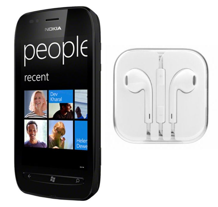 Buy Hi Definition Stereo Earphones With Mic For Nokia Lumia 710 online