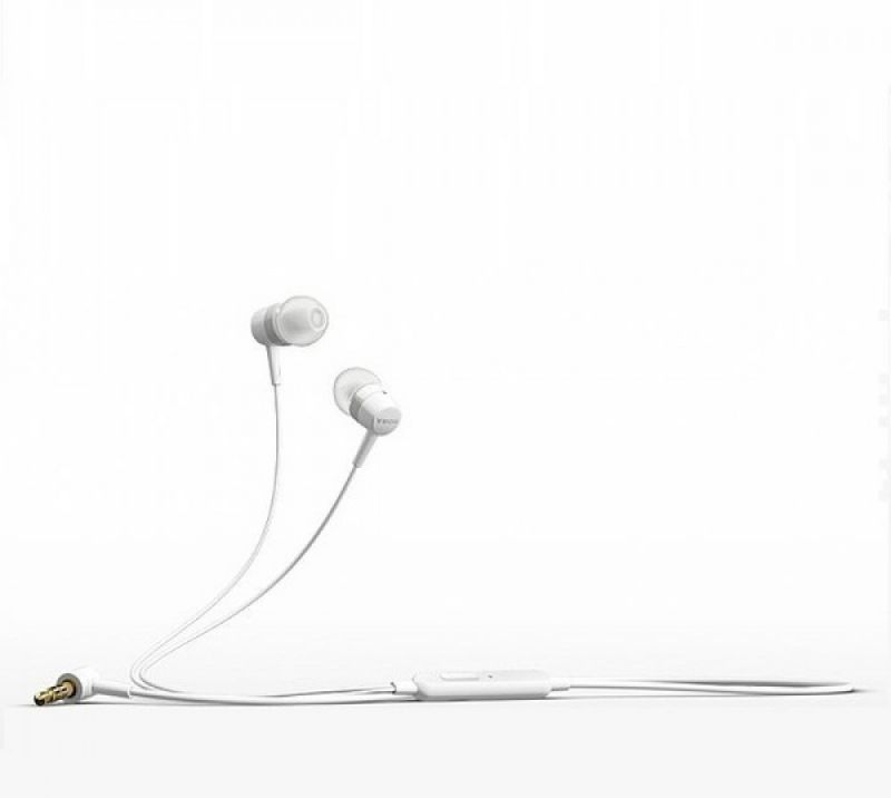 Buy Buy 1 Get 1 Free Sony OEM Mh750 Stereo Headet With Mic (white Color) online