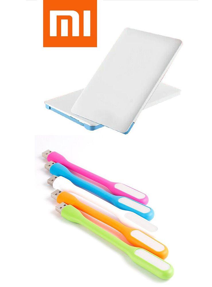 Buy Mi OEM 2500mah Credit Card Powerbank And Flexible LED USB Lamp online