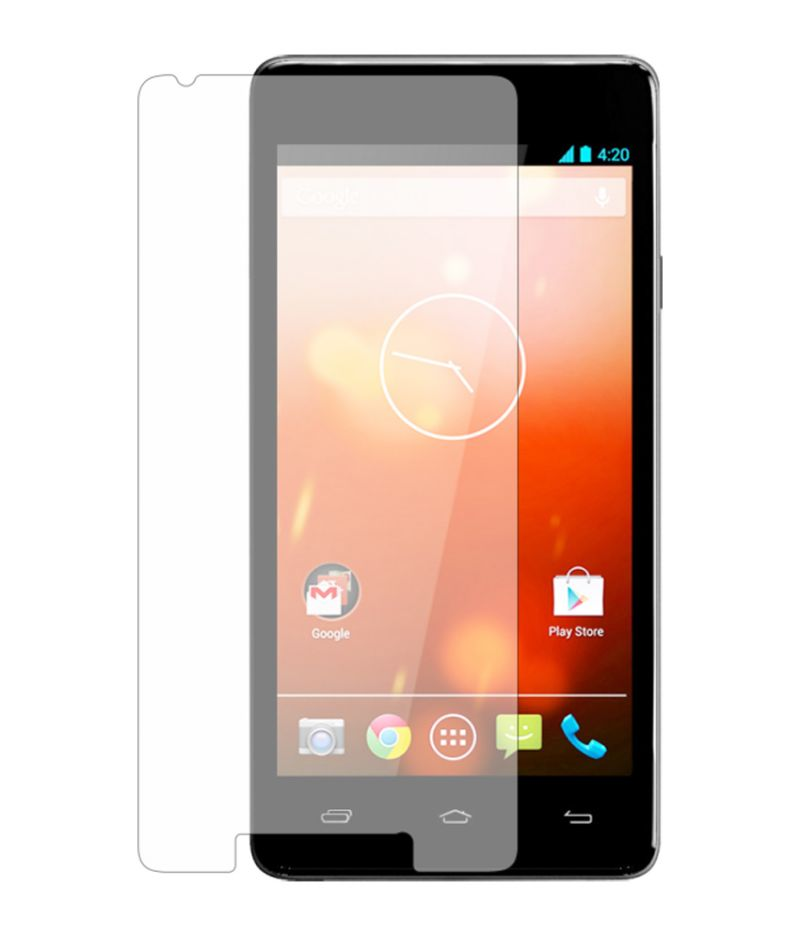 Buy Micromax Canvas Fire A104 Ultra Clear Screen Protector Guard ...