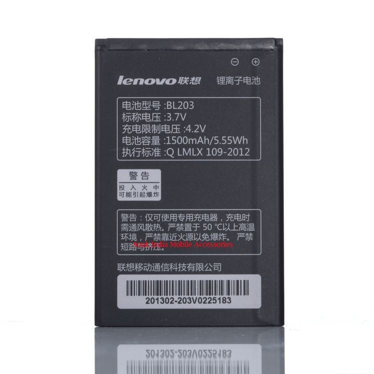 Buy Lenovo Bl-203 OEM Replacement 1500mah Battery For Lenovo Ideaphone A365 online