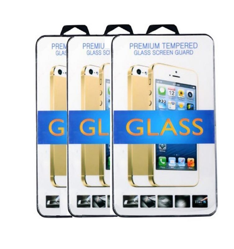Buy Tempered Glass Screen Protector For Moto E Pack Of (3) online