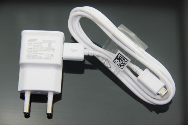 Buy Samsung Eu Power Plug Micro USB Travel Charger (white) online
