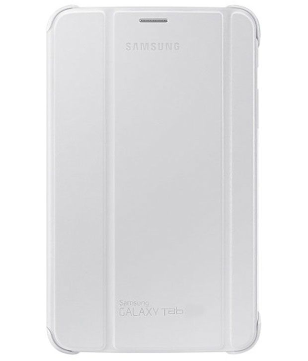 Buy Premium 3 Fold White Flip Cover For Samsung Galaxy Tab 4 8.0 T330/t331/t335 online