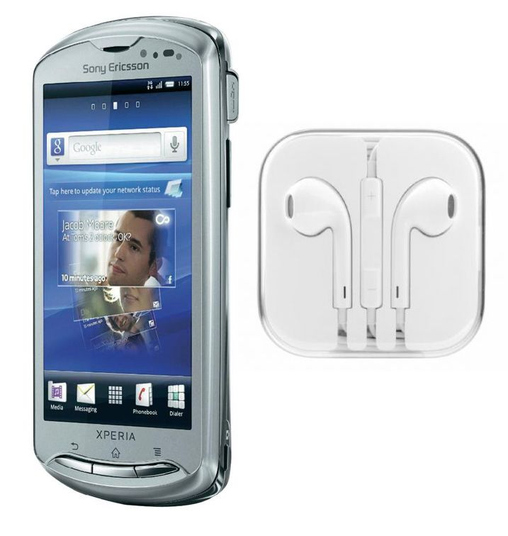 Buy Hi Definition Stereo Earphones With Mic For Sony Ericsson Xperia Pro online