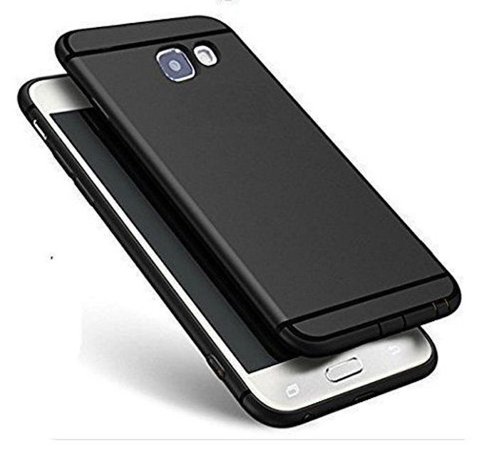 Buy Snaptic Nokia 8 Anti Skid Soft Silicone Matte Black Back Cover online