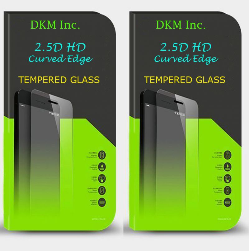 Buy - 2.5d HD Curved EDGE Tempered Glass For Lava Iris Fuel F2 online