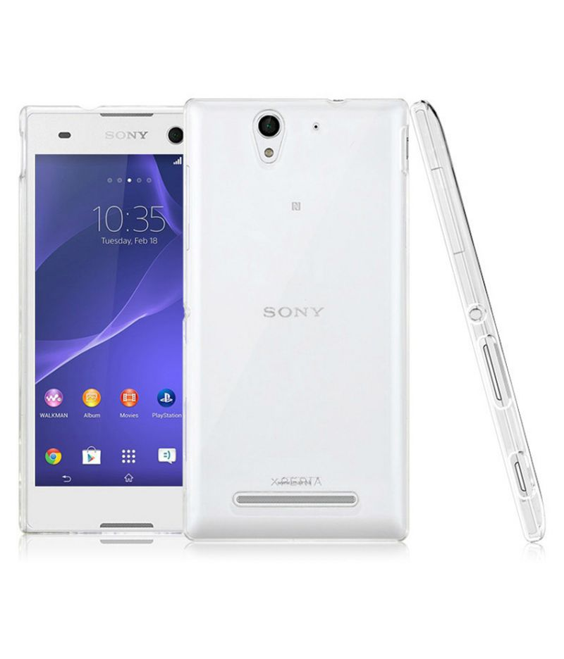 Buy Ultra Thin 0.3mm Transparent Soft Case For Sony Xperia C3 online