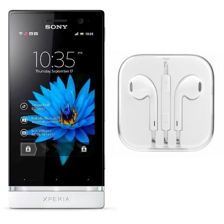 Buy Hi Definition Stereo Earphones With Mic For Sony Xperia U St25i online