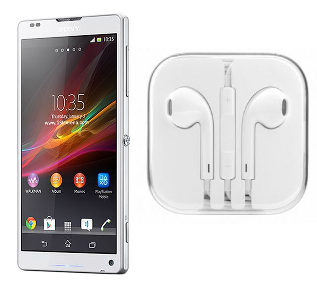 Buy Hi Definition Stereo Earphones With Mic For Sony Xperia Zl L35h online