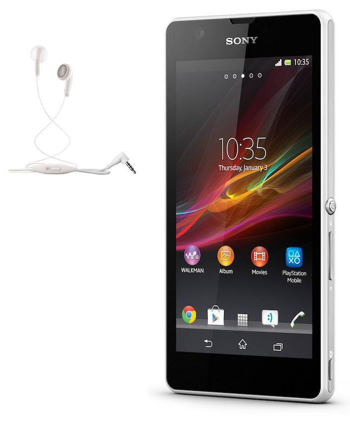 Buy Sony Xperia Zr M35h Stereo Headset With Mic (white) online