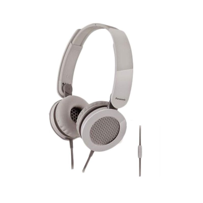 Buy Panasonic Rp-hxs200me-k Stylish Stereo Headphone With Microphone(white) online