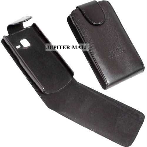 designer fashion 40d2e 13c26 Nokia X2-01 Leather Case Cover Flip Pouch Ln15