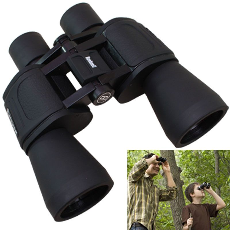 Buy Bushnell 20x50 Powerful Prism Binocular Telescope Outdoor With Pouch -02 online