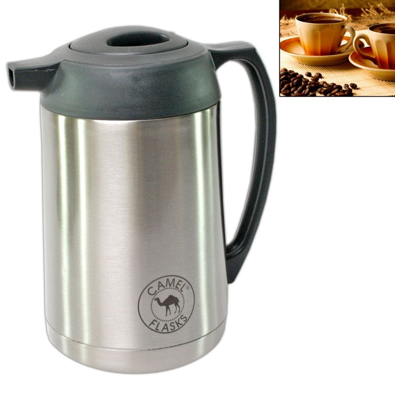 Camel Vacuum Thermos Insulated 1000ml Hot Cold Water Drink