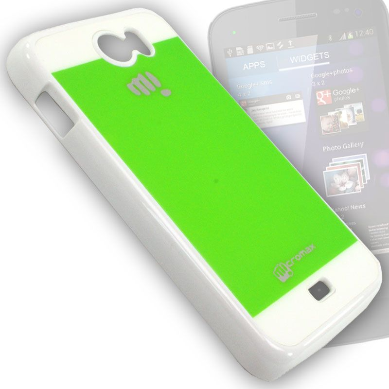 best sneakers fa34e 7cd1d Hard Back Case Cover Pouch For Micromax A110 Canvas 2 - Bm06