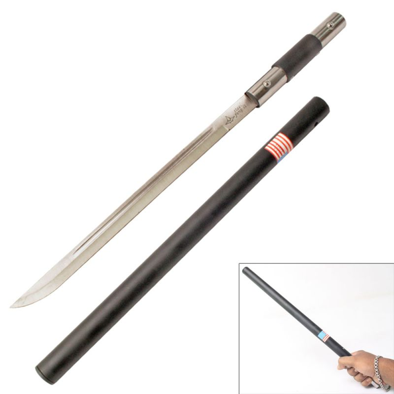 Buy Hidden Blade Sword Cane For Self Defence - 03 online