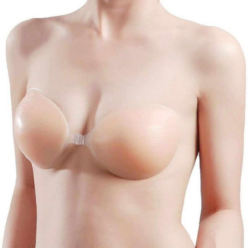 Buy Size-30 Natural Strapless Push Up Bra With Soft Silicon Gel Silicone online