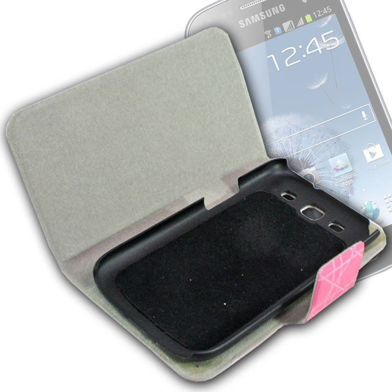 Buy Leather Back Case Cover Flip Pouch For Samsung Galaxy S3 Siii I9300 - Fs06 online