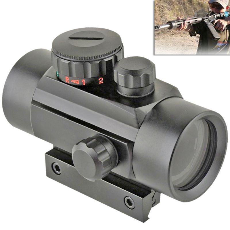 Buy Tactical Hunting 1x30mm Red Green Dot Sight Scope 20mm Rail Mount Aimpoint online