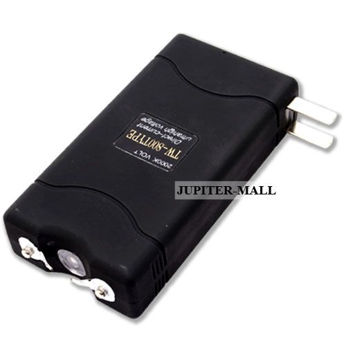 Buy Ladies Self Defense 5000Kv Stun Gun With Torch Flashlight online