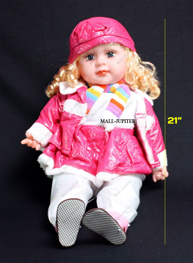 4a0ea67f8760 Buy 20 Inch Singing Talking Doll Child Girl Baby Kid Gift Soft Toy ...