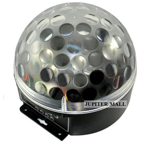 Buy Disco Laser Crystal Magic Ball Light Player Sound online