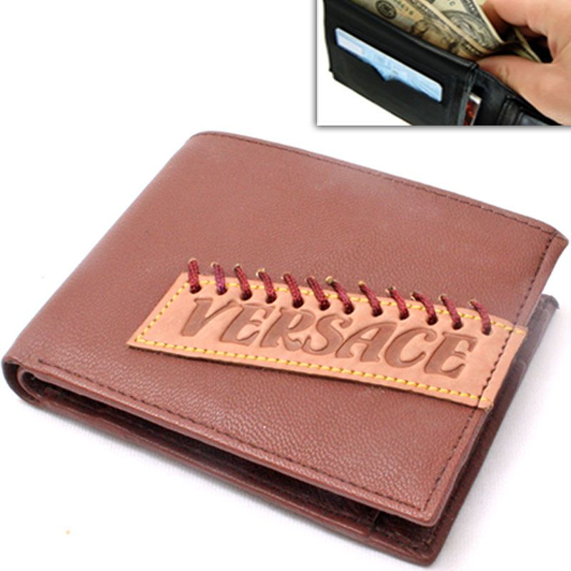 0e76012a14a7 Buy Mens Leather Wallet Credit Business Card Holder Case Money Bag Purse  -10 online
