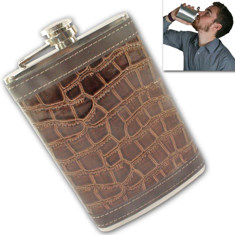 Buy 09 oz STAINLESS STEEL Drinks Hip Pocket Wine Flask Screw Cap online