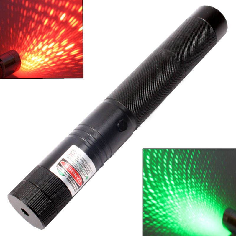 Buy 30mW Rechargeable Green   Red Laser Pointer Party Disco Light 5 Miles online