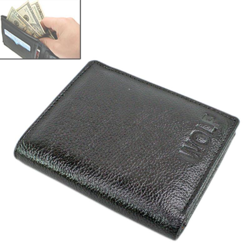 Buy Gents Leather Wallet Card Holder Case Money Bag Purse - 127 online