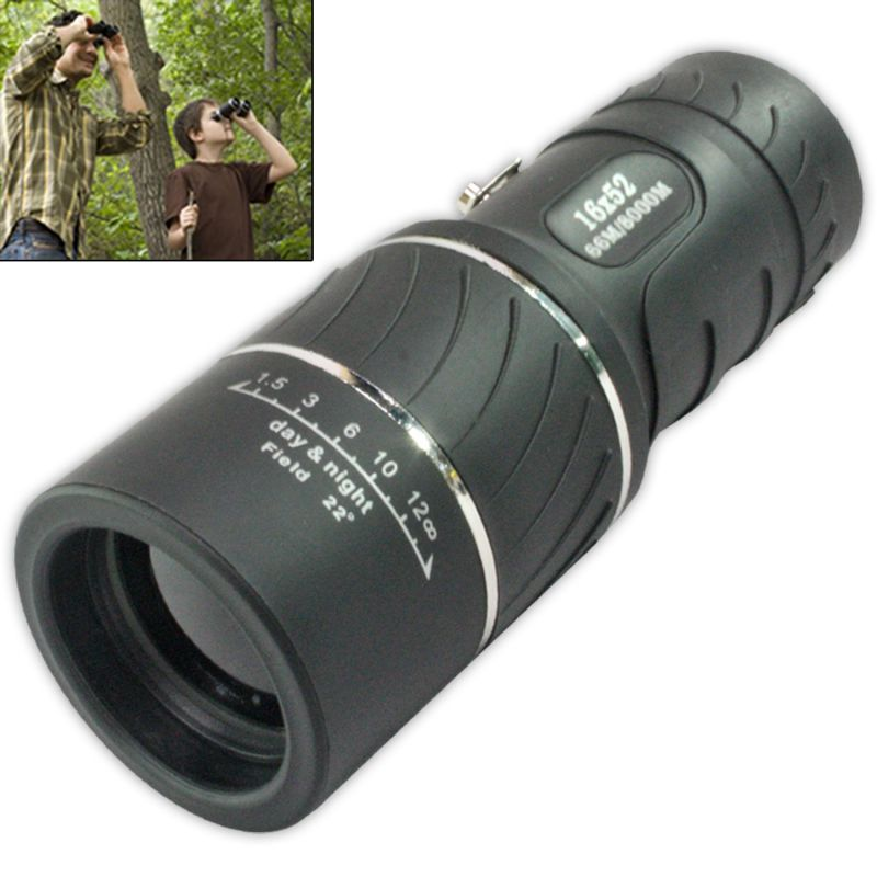 Buy Bushnell 16x52 Powerful Prism Binocular Monocular Telescope With Pouch -13 online