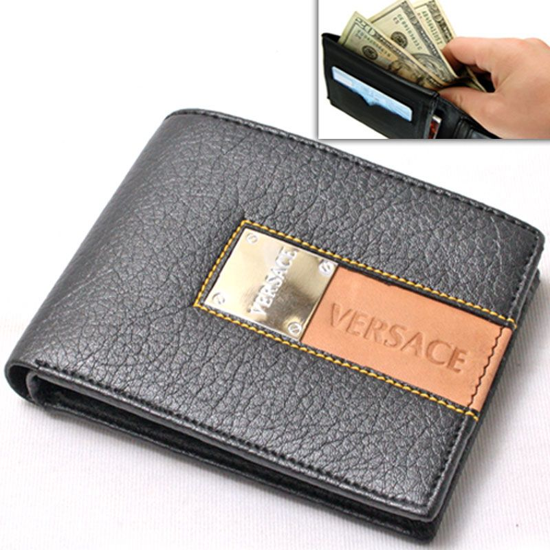 Buy Mens Leather Wallet Credit Business Card Holder Case Money Bag ...