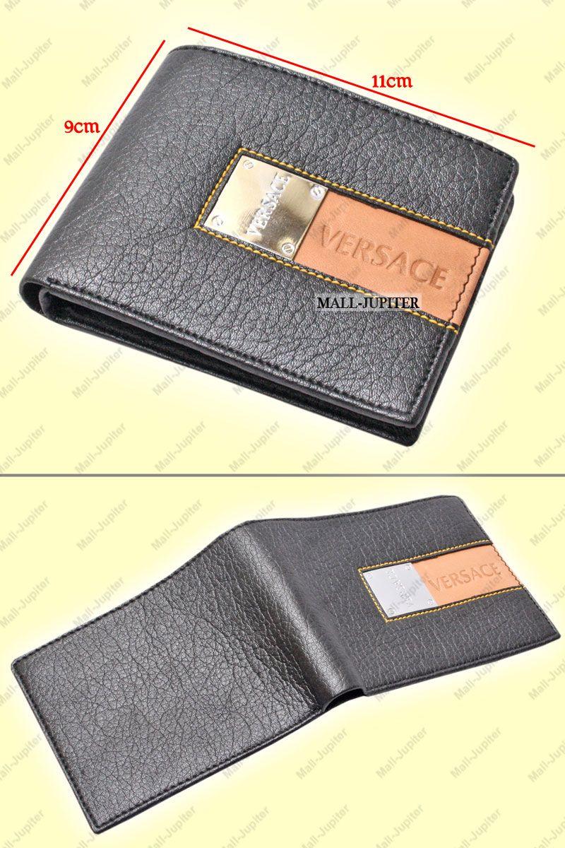 Buy mens leather wallet credit business card holder case money bag 54 colourmoves Images
