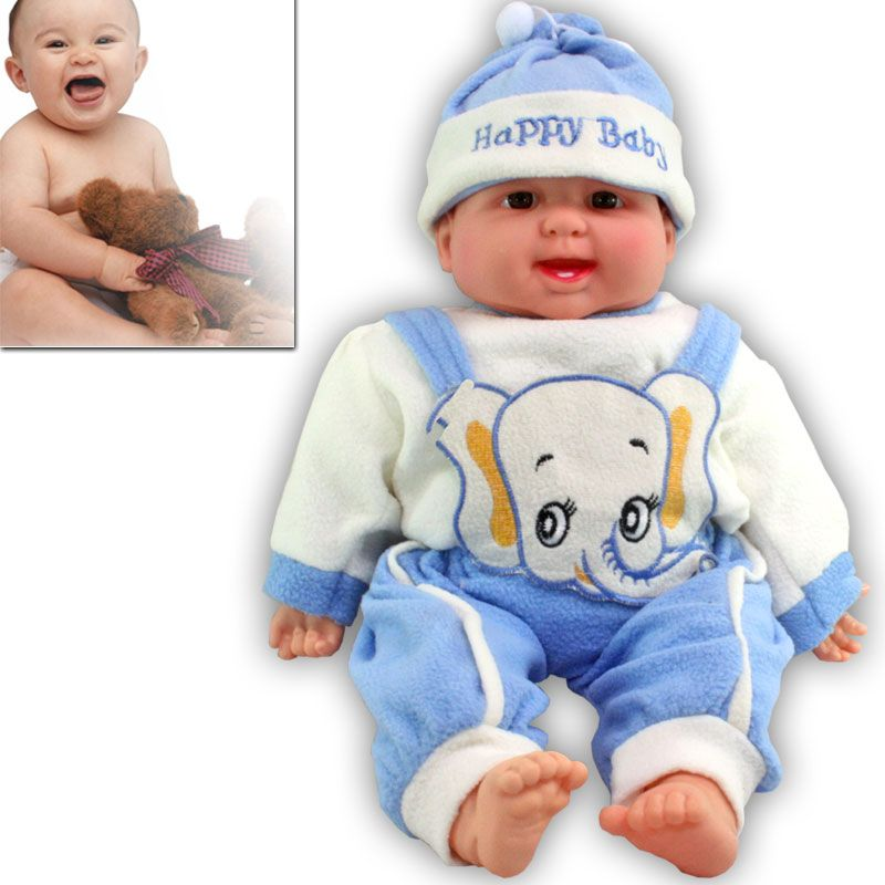Buy 18 Inch Laughing Doll Child Girl Baby Kid Gift Soft Toy Toys