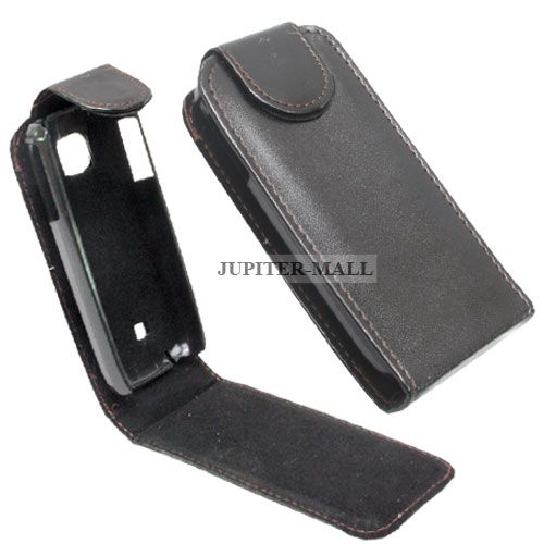 various colors b338c cf732 Nokia 2700 Classic Leather Back Case Cover Skin Flip Pouch - N19 Black