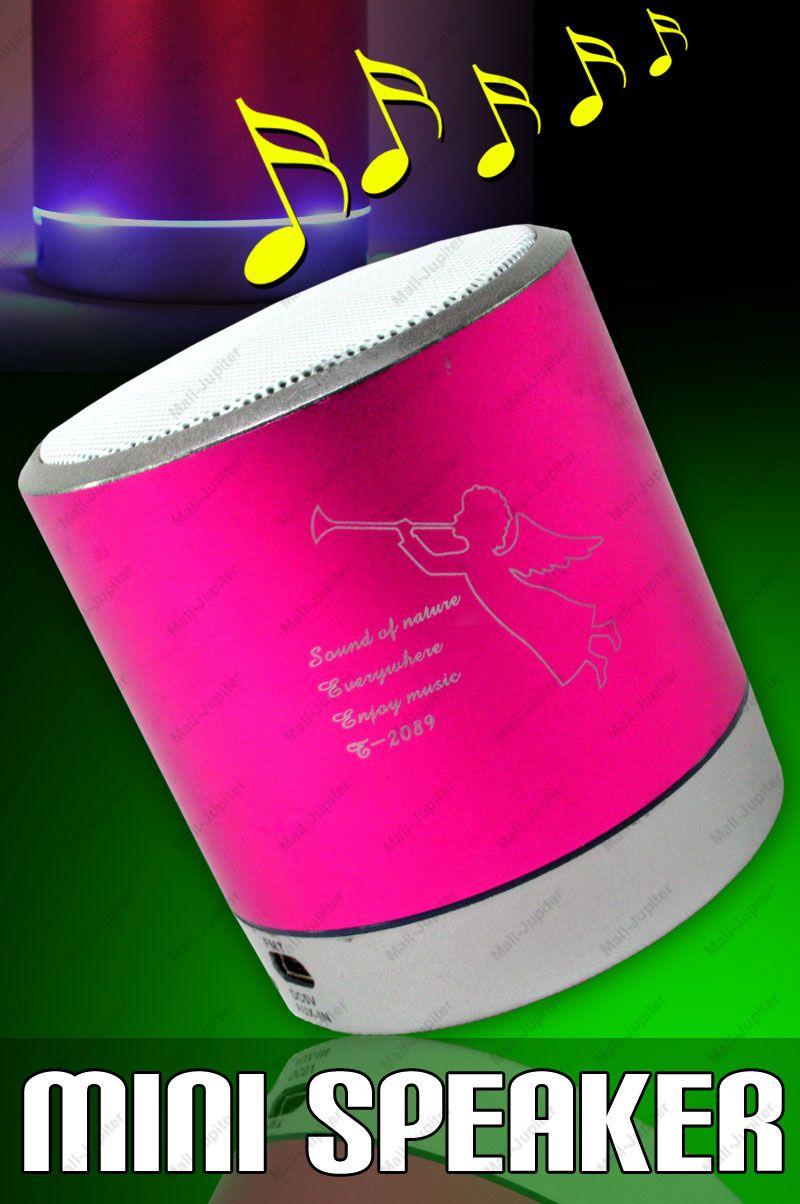 Mini Portable SD Card Reader MP3 Player Sound Box Speaker FM - 29