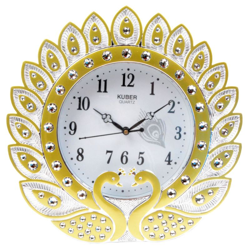 Buy Cute Fashionable Table Wall Desk Clock Watches With out Alarm online