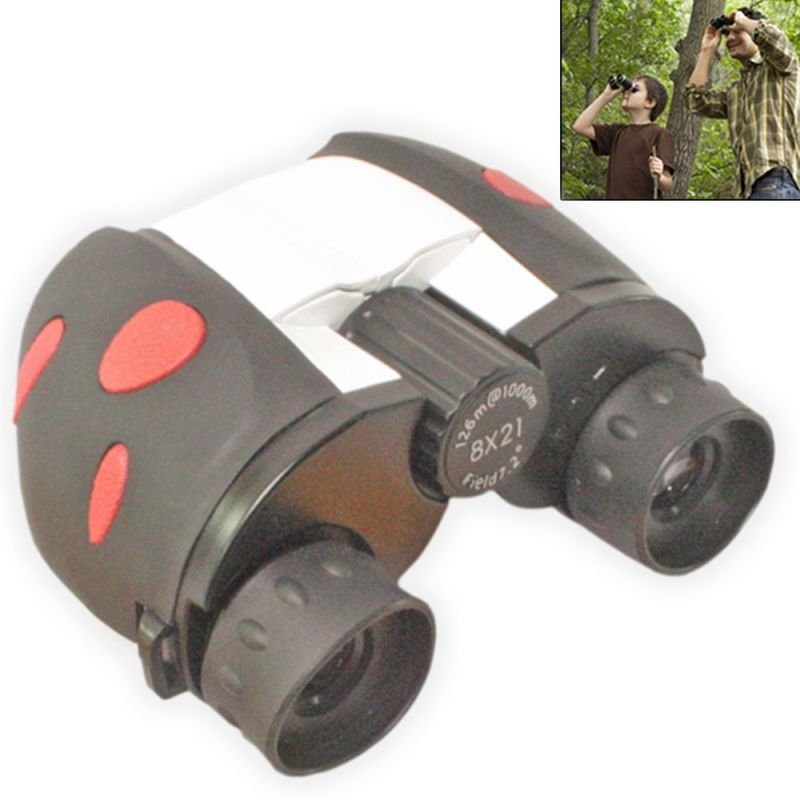 Buy Binoculars 8x21 Powerful Prism Binocular Telescope With Pouch - 38 online