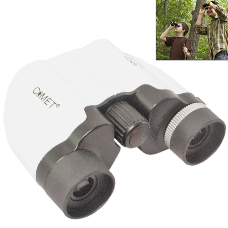 Buy COMET 8X21 Powerful Prism Binocular Telescope with Pouch online