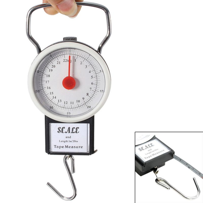 Buy 22Kg Portable Fish Hook Hanging Spring Weight Weighing Scale online