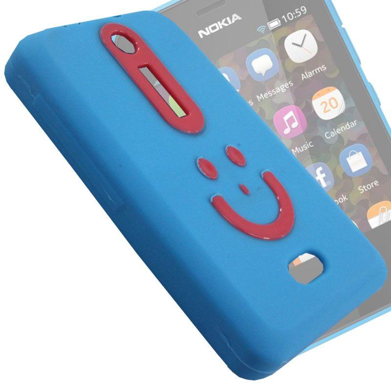 release date: c4f10 e8c5e Rubberized Soft Back Case Pouch For Nokia Asha 501 - Bn04