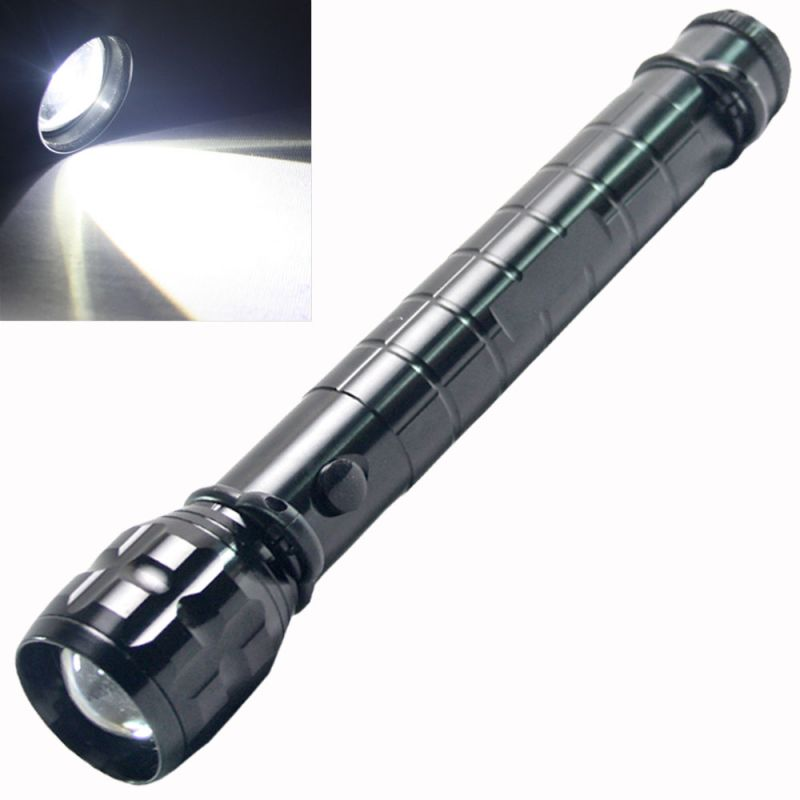 Buy CREE LED Zoomable Torch Lamp Flashlight Light Camping Hike online