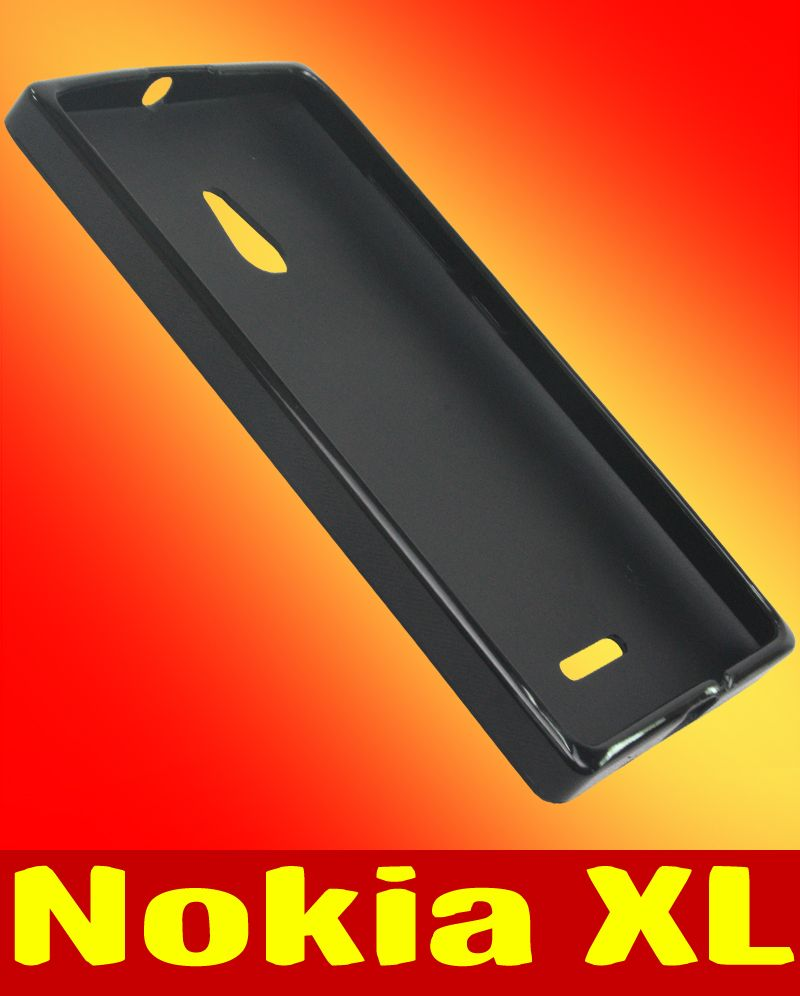 Buy Rubberized Soft Back Case Cover Pouch For Nokia Xl Bn01 Online Yellow 50