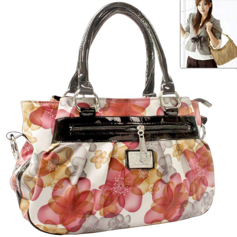 Buy Leather Bag Womens Ladies Girls Side Hand Bags Handbag Purse ...