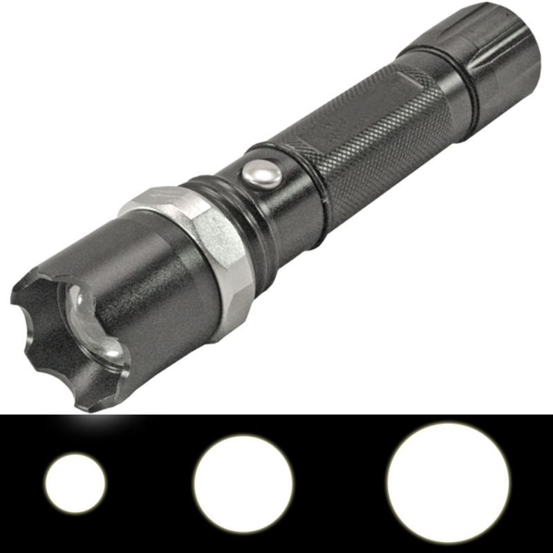 Buy 3 Mode Cree Rechargeable LED Waterproof Flashlight Flash Light Torch - 61 online